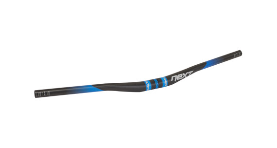 Race Face Next 3/4 Riser 725 mm Ø31.8 mm Carbon blau
